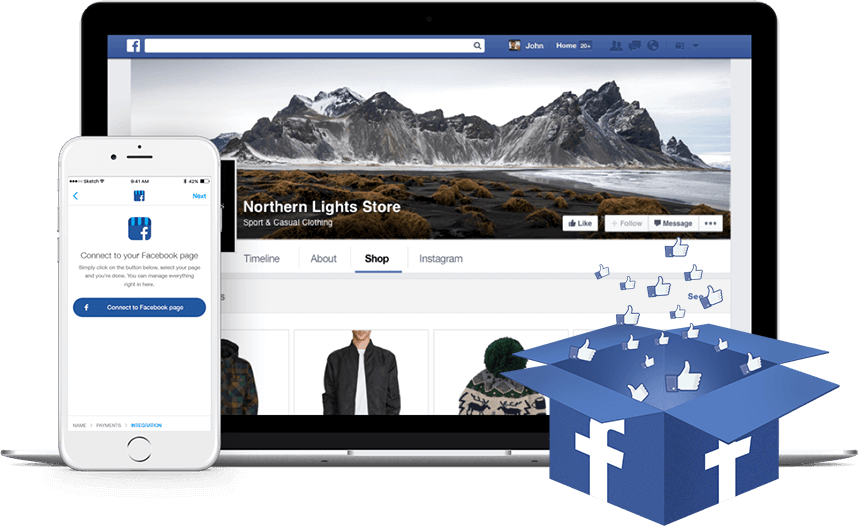 Phần mềm quản lý bán hàng trên Facebook Bpage