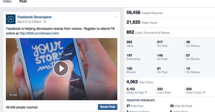 Quảng cáo Facebook Video View