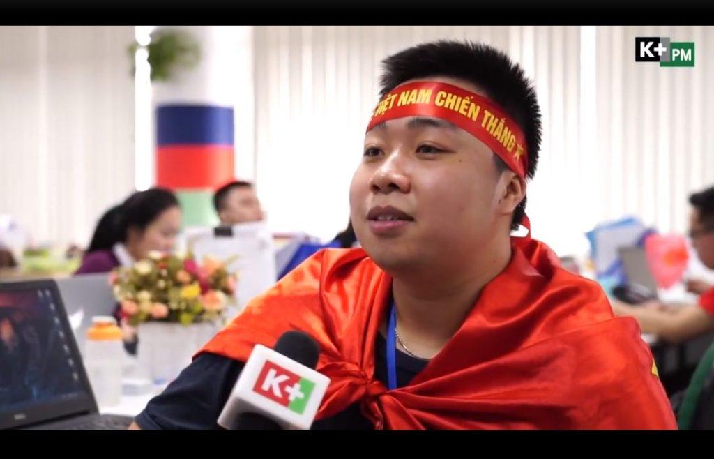 Không khí cổ vũ U23 Việt Nam tại BNC Group