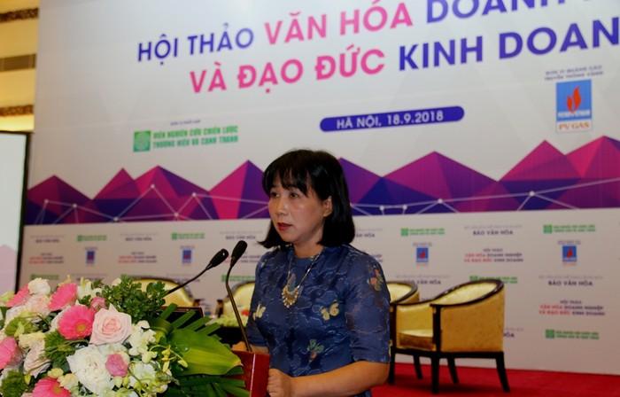 Bà Chu Thị Thu Hằng, Tổng biên tập Báo Văn hóa
