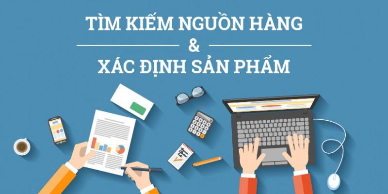 Tìm kiếm nguồn hàng kinh doanh online
