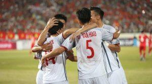 Đội tuyển Việt Nam với lối chơi ấn tượng
