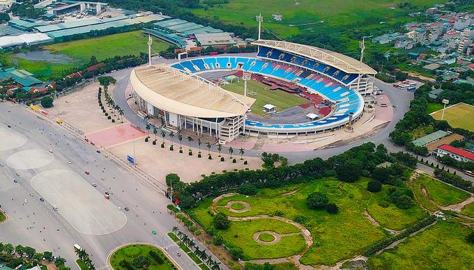 SVĐ Mỹ Đình là trung tâm của Liên hợp thể thao quốc gia Việt Nam.