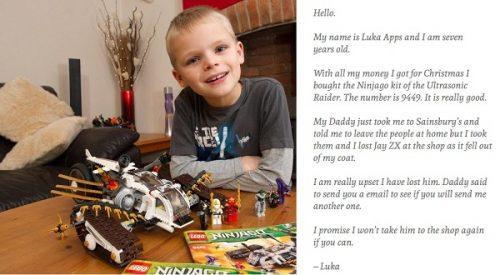 Bài học vàng từ bức thư mua Lego của cậu bé 7 tuổi
