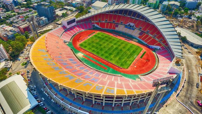 Sân vận động này chính thức khai trương vào năm 1998