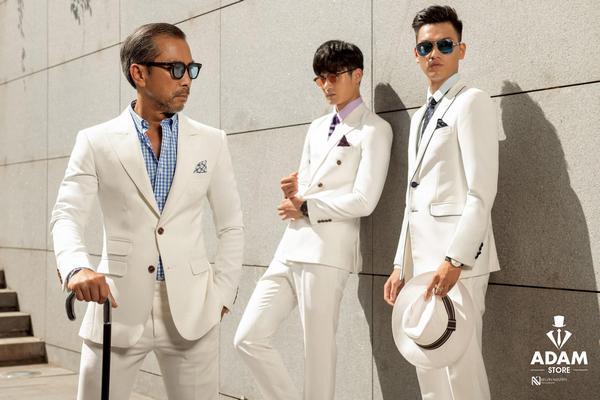 3 thế hệ, 3 độ tuổi trong trang phục đầy lịch lãm của Adam Store