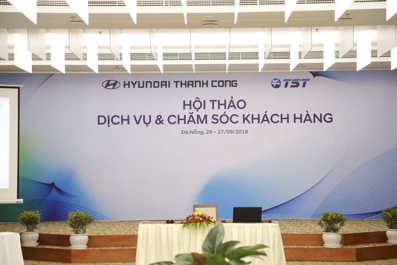 Hội thảo Dịch vụ - Chăm sóc khách hàng Hyundai lần 2/2018 do Hyundai Thành Công tổ chức đã diễn ra thành công tốt đẹp