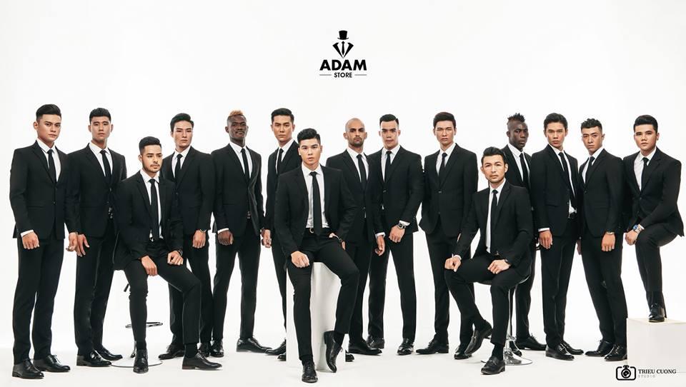 Kết hợp cả mẫu Việt và mẫu nước ngoài, Adam Store đã chứng tỏ vẻ đẹp của các chàng trai Việt Nam hoàn toàn có thể sánh ngang quốc tế