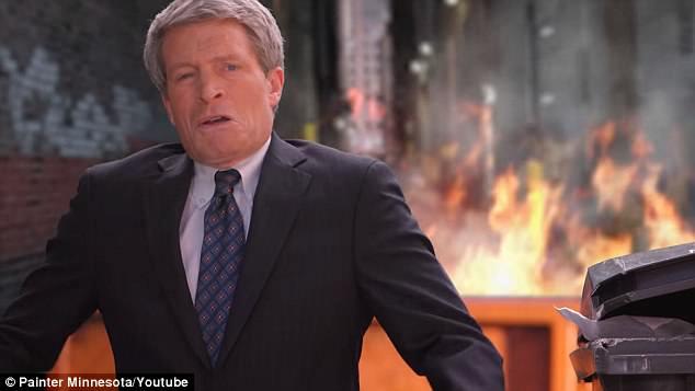 """Richard Painter nổi bật với chiến dịch """"Ngọn lửa thảm họa"""""""