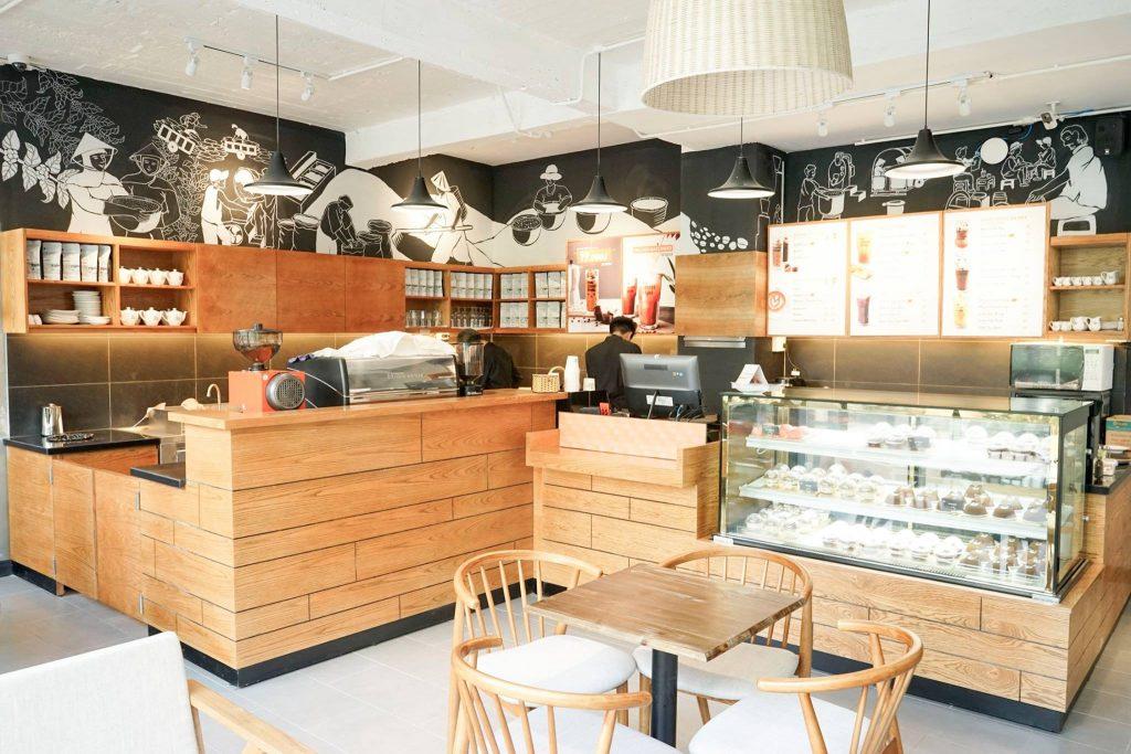 The Coffee House trên mặt tiền đường Trần Đại Nghĩa - Hà Nội
