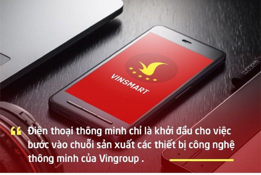 VinSmart là bước tiến tiếp theo của tập đoàn Vingroup trong lĩnh vực kinh doanh