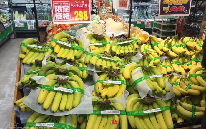 Nông sản Việt xuất hiện nhiều trong các siêu thị Nhật Bản