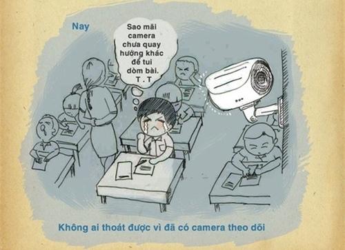 """Tuy nhiên ngày nay học sinh chỉ """"ghét"""" mỗi cái camera mà thôi"""