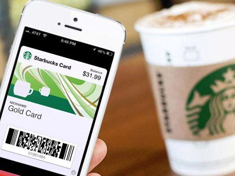 App ứng dụng thanh toán của Starbucks
