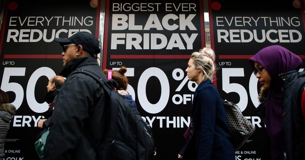 Black Friday 2018 tại Vương quốc Anh: Giảm giá cực khủng