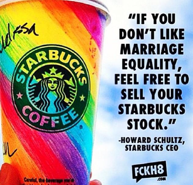 Chiến dịch ủng hộ LGBT của Starbucks