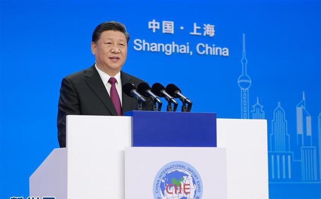 Thông qua sự kiện, Trung Quốc muốn lôi kéo nhiều nhà đầu tư nước ngoài nhằm đối trọng chiến tranh thương mại