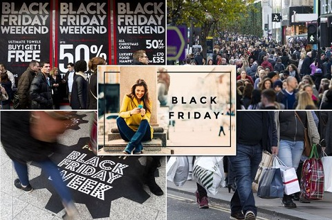 Black Friday có ảnh hưởng lớn tại các nước phương Tây