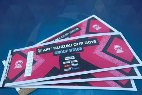 Vé vòng bảng AFF Cup 2018