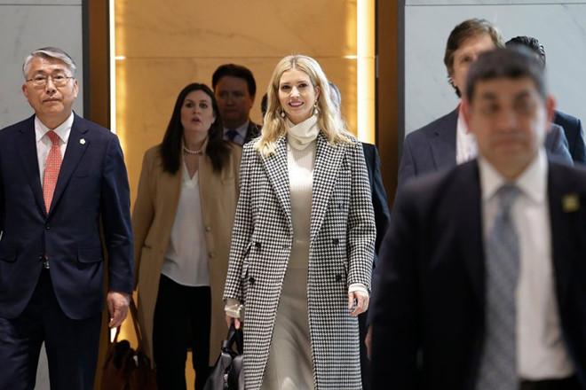 Ivanka bước vào chính trường Mỹ với tư cách vừa là con gái; vừa là cố vấn Tổng thống Mỹ