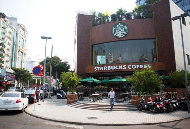 Việt Nam là nơi duy nhất mà Starbucks không phải là điểm đến hàng đầu