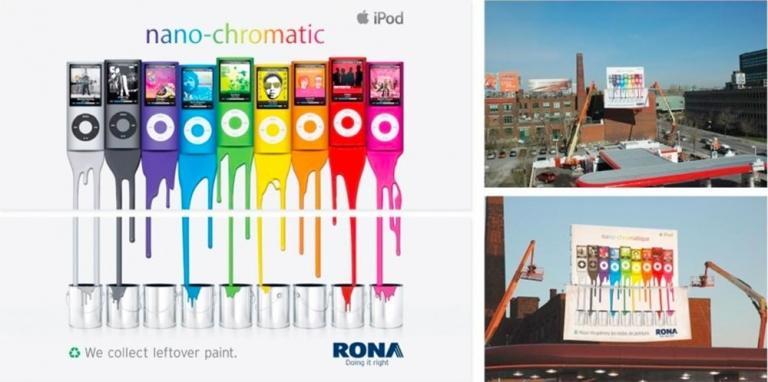 Rona và câu chuyện tiếp thị phản kích ăn theo Apple