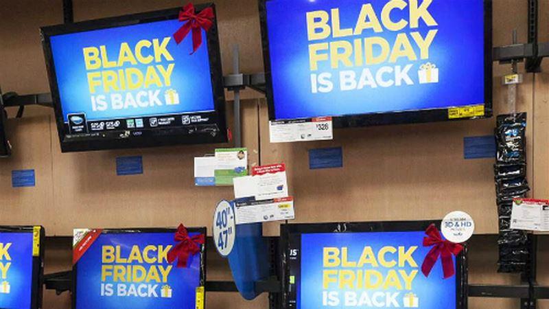 Tivi giảm giá vào Black Friday