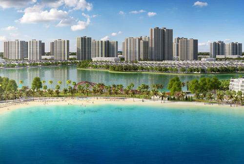 Đại đô thị đầu tiên VinCity Ocean Park theo mô hình Singapore mới sẽ ra mắt tại Gia Lâm, Hà Nội thời gian tới, cho trả góp 35 năm.