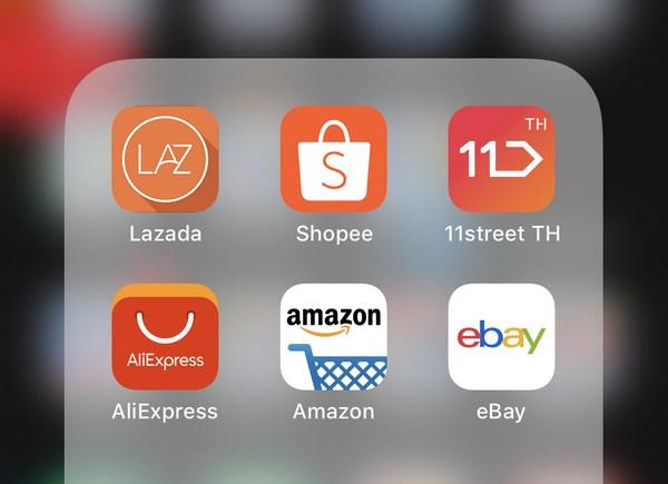 Các app bán hàng trên di động