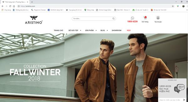 Marketing thông qua việc trau chuốt hình ảnh và phương thức bán hàng cũng là lựa chọn của ARISTINO