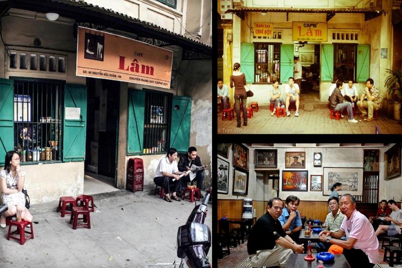 Cà phê Lâm tại Nguyễn Hữu Huân