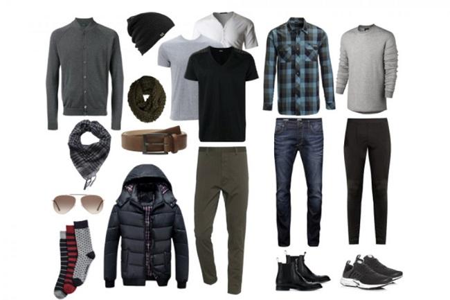 Gợi ý chuẩn bị quần áo cho mùa đông châu Âu của phái nam