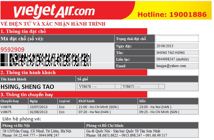Vé máy bay điện tử là sản phẩm của việc kinh doanh vé máy bay online