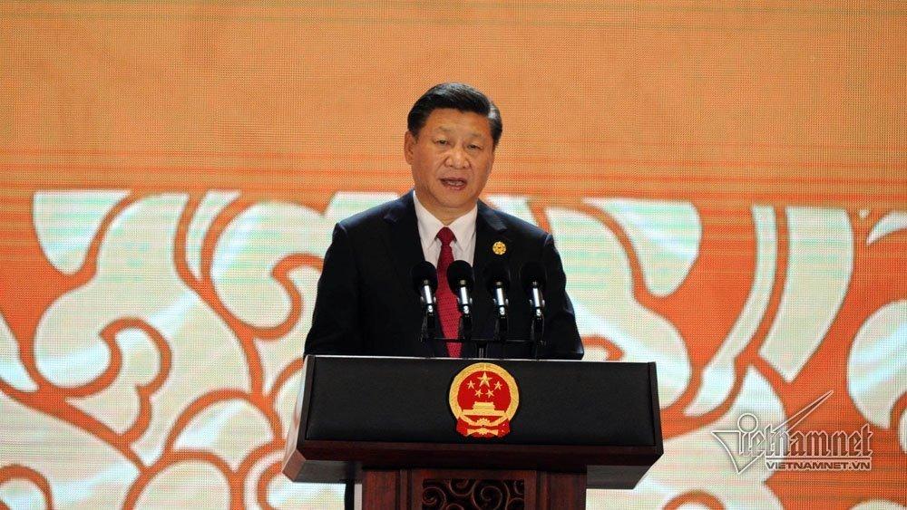 Chủ tịch Trung Quốc Tập Cận Bình phát biểu trong hội nghị cấp cao APEC 2018