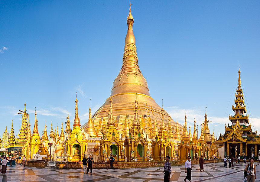 Chùa vàng Shwedagon Myanmar – niềm tự hào của người dân Myanmar