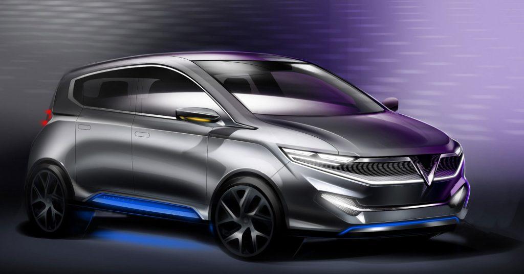 """Một trong các mẫu phác thảo thiết kế ô tô điện trong chương trình """"Chọn xế yêu cùng VINFAST - 2"""""""