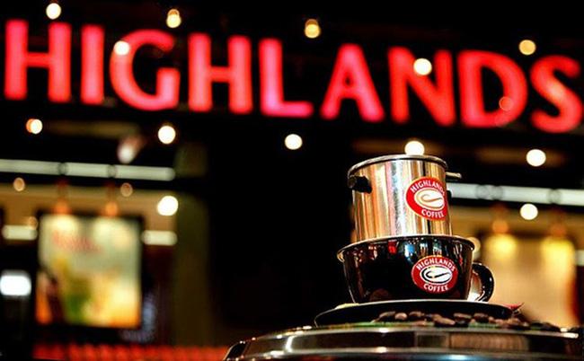 Highlands Coffee - một trong số thương hiệu cà phê Việt hàng đầu