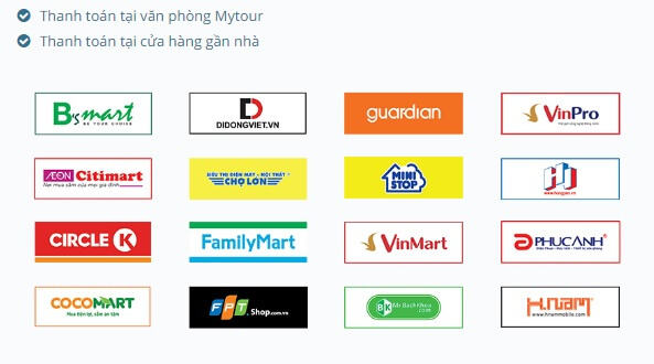 Mytour ghi điểm với các hình thức thanh toán đa dạng