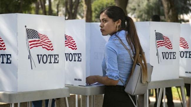 Nhân viên Mỹ được nghỉ có lương để đi bỏ phiếu bầu cử giữa kỳ