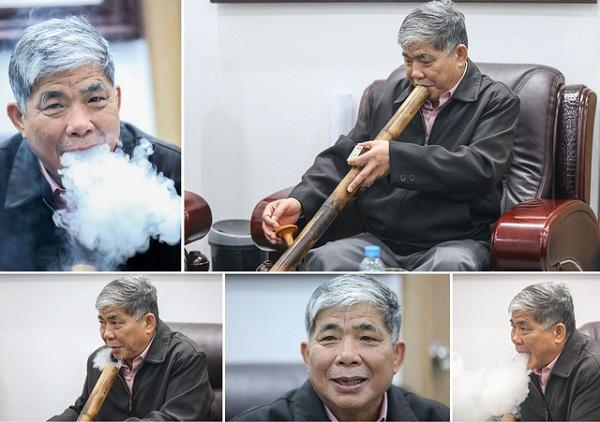 Ông Lê Thanh Thản – Chủ tịch Tập đoàn khách sạn Mường Thanh được mệnh danh là đại gia điếu cày vì những sở thích giản dị của mình
