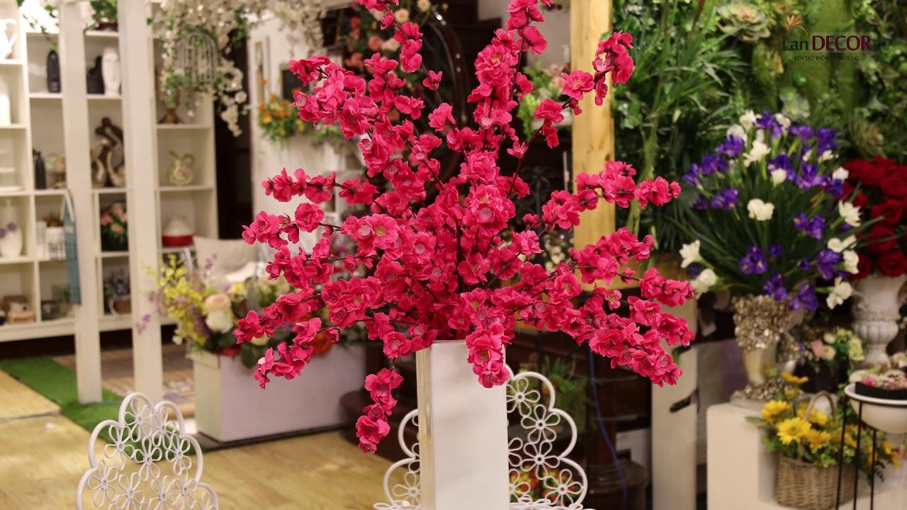 Những lọ hoa vải bền, đẹp, đa dạng về màu sắc, kiểu dáng