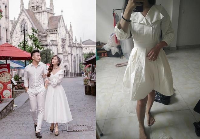 Chiếc váy mua online có giá 650k tưởng chừng mặc lên thành công chúa, ai dè...