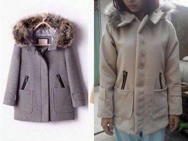 Tưởng chừng sẽ mua được một chiếc áo khoác dạ sang chảnh..