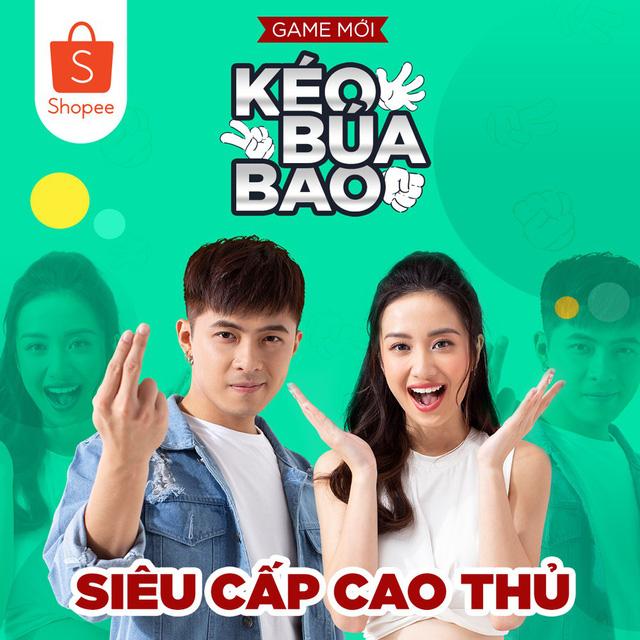 Gin Tuấn Kiệt và Jun Vũ tham gia cùng chương trình Shopee Xu