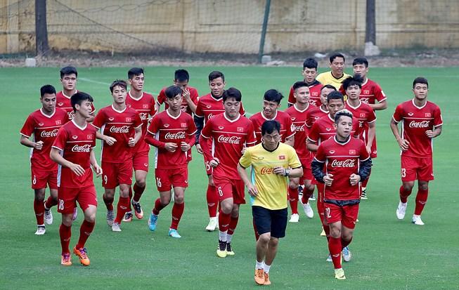 ĐT Việt Nam tự tin với sức trẻ đầy nhiệt huyết sẽ làm nên chuyện trong trận đấu sắp tới