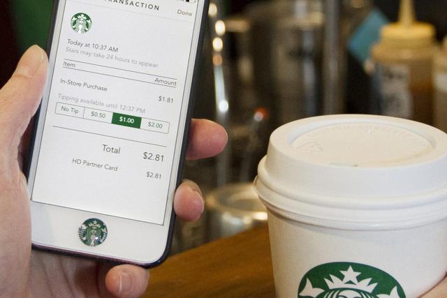 App mobile của Starbucks