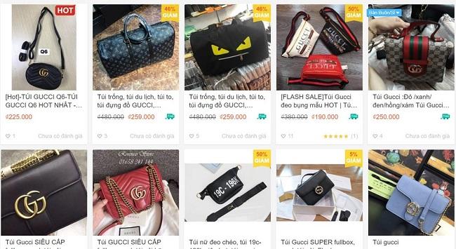 Hàng loạt các thương hiệu nổi tiếng được rao bán online với giá rẻ bất ngờ