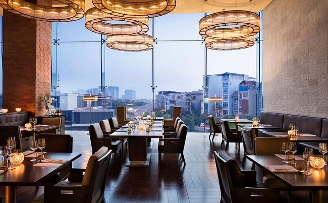 Nhà hàng Pháp French Grill tại JW Marriott Hanoi
