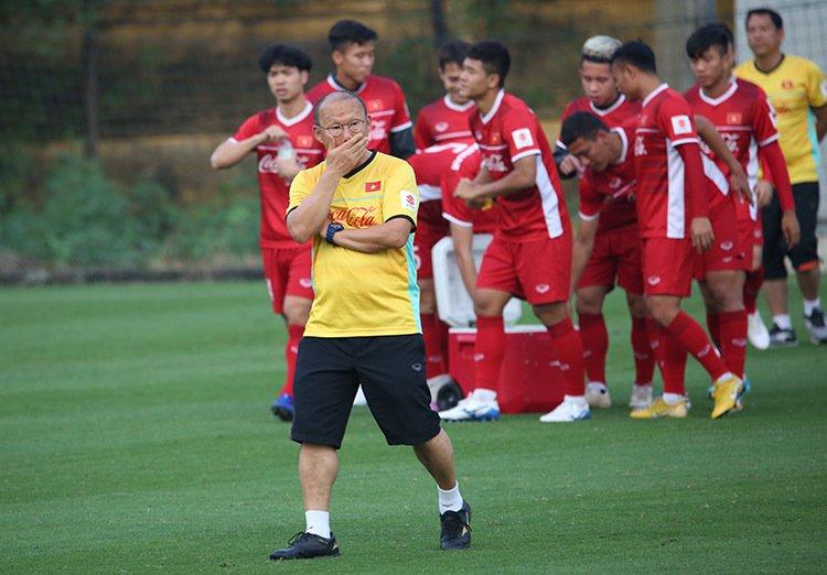 HLV Park Hang-seo chuẩn bị kĩ lưỡng về mọi mặt cho ĐT Việt Nam trong trận đấu sắp tới