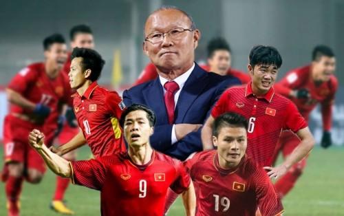 HLV Park Han Seo cùng các cầu thủ trên con đường Săn vàng AFF